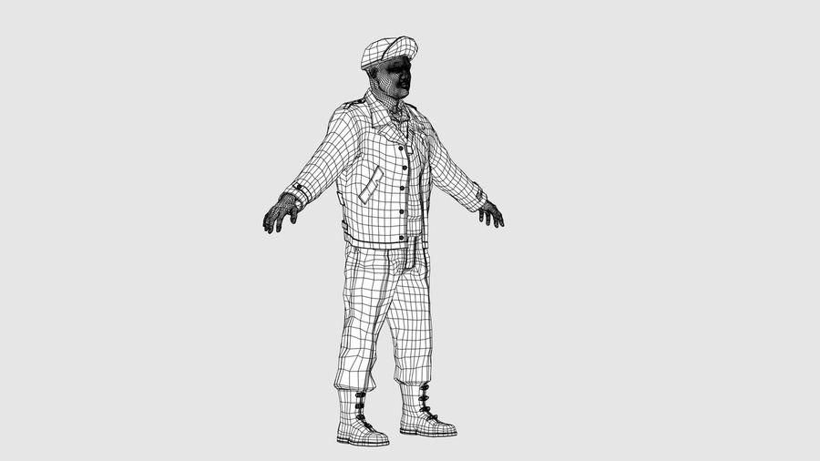 Carácter del hombre -C royalty-free modelo 3d - Preview no. 10