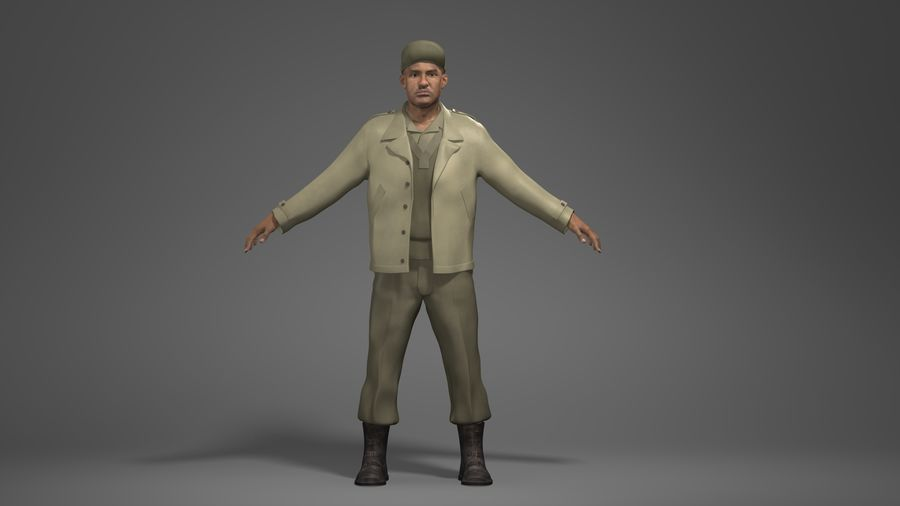 Personnage homme -C royalty-free 3d model - Preview no. 1