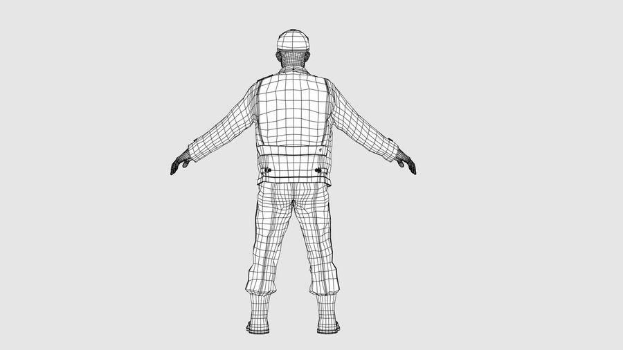 Carácter del hombre -C royalty-free modelo 3d - Preview no. 13