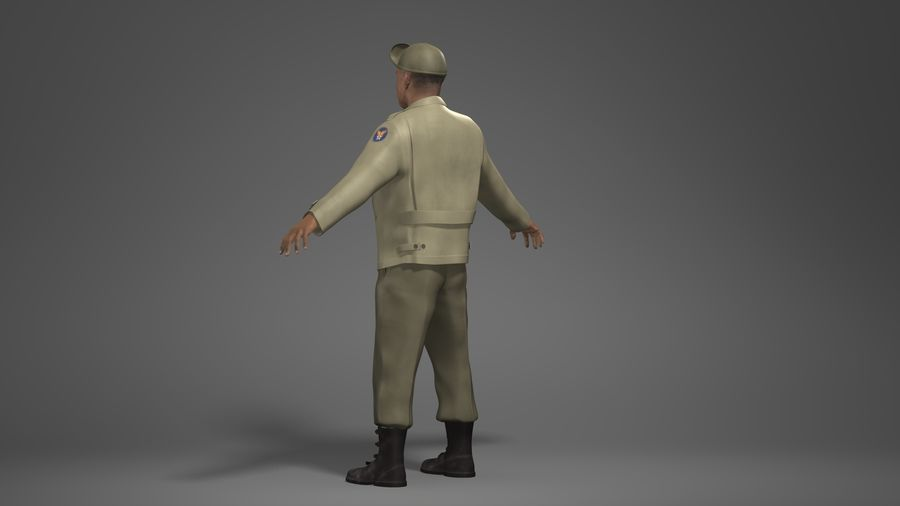 Personnage homme -C royalty-free 3d model - Preview no. 6