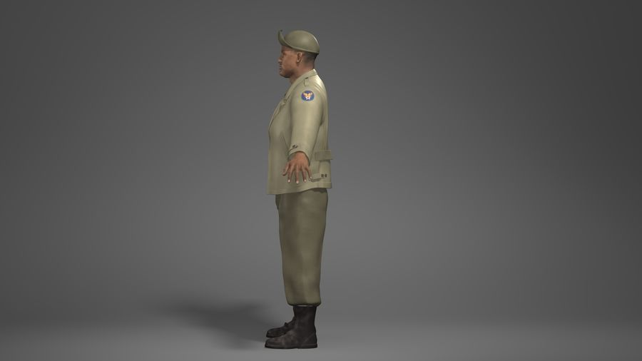 Personnage homme -C royalty-free 3d model - Preview no. 7