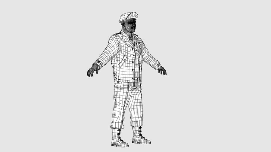 Personnage homme -C royalty-free 3d model - Preview no. 10
