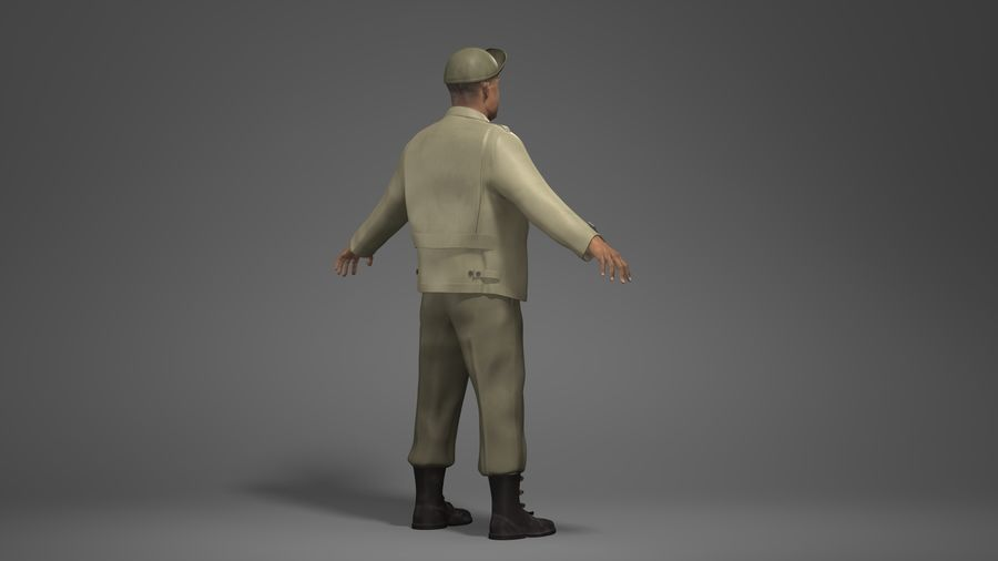 Personnage homme -C royalty-free 3d model - Preview no. 4