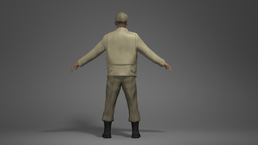 Personnage homme -C royalty-free 3d model - Preview no. 5
