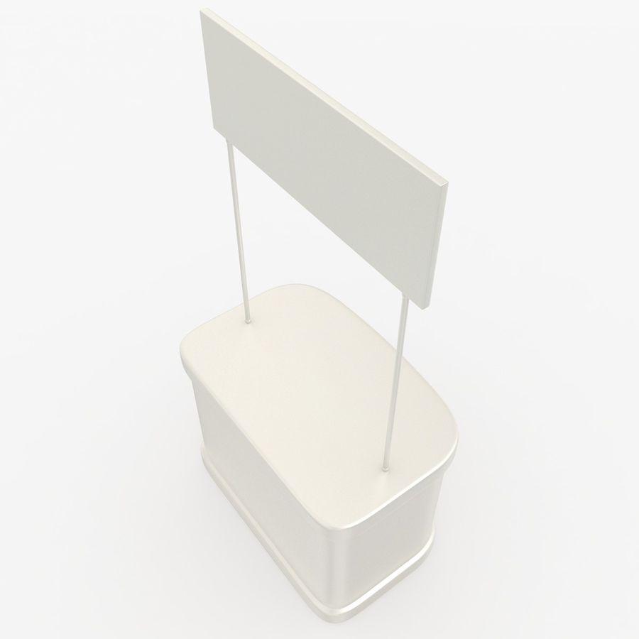 商业摊位集合 royalty-free 3d model - Preview no. 13