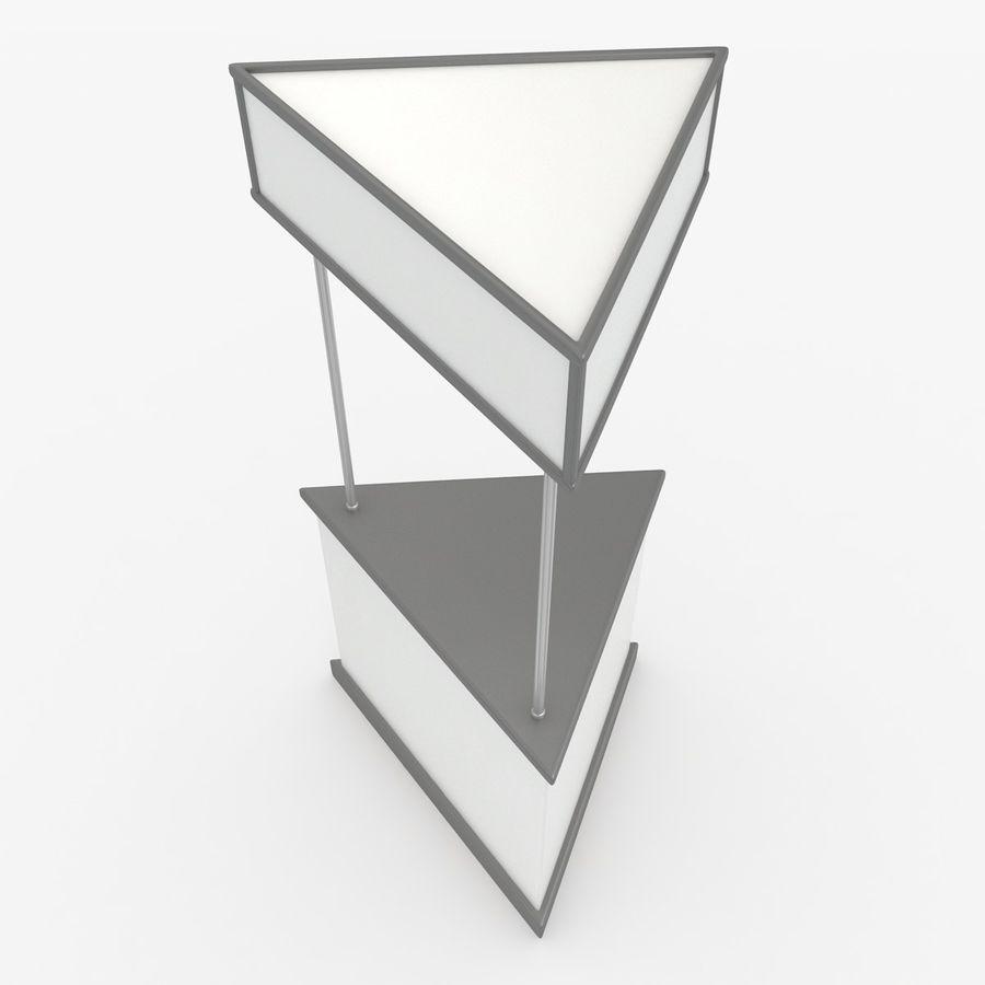 商业摊位集合 royalty-free 3d model - Preview no. 20