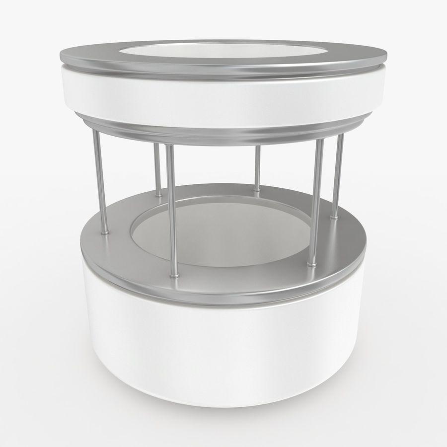 商业摊位集合 royalty-free 3d model - Preview no. 26
