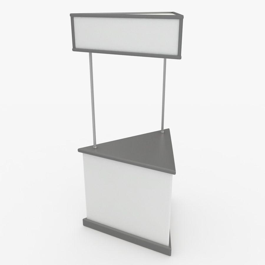 商业摊位集合 royalty-free 3d model - Preview no. 19