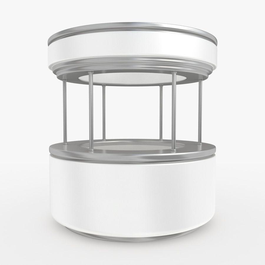 商业摊位集合 royalty-free 3d model - Preview no. 24