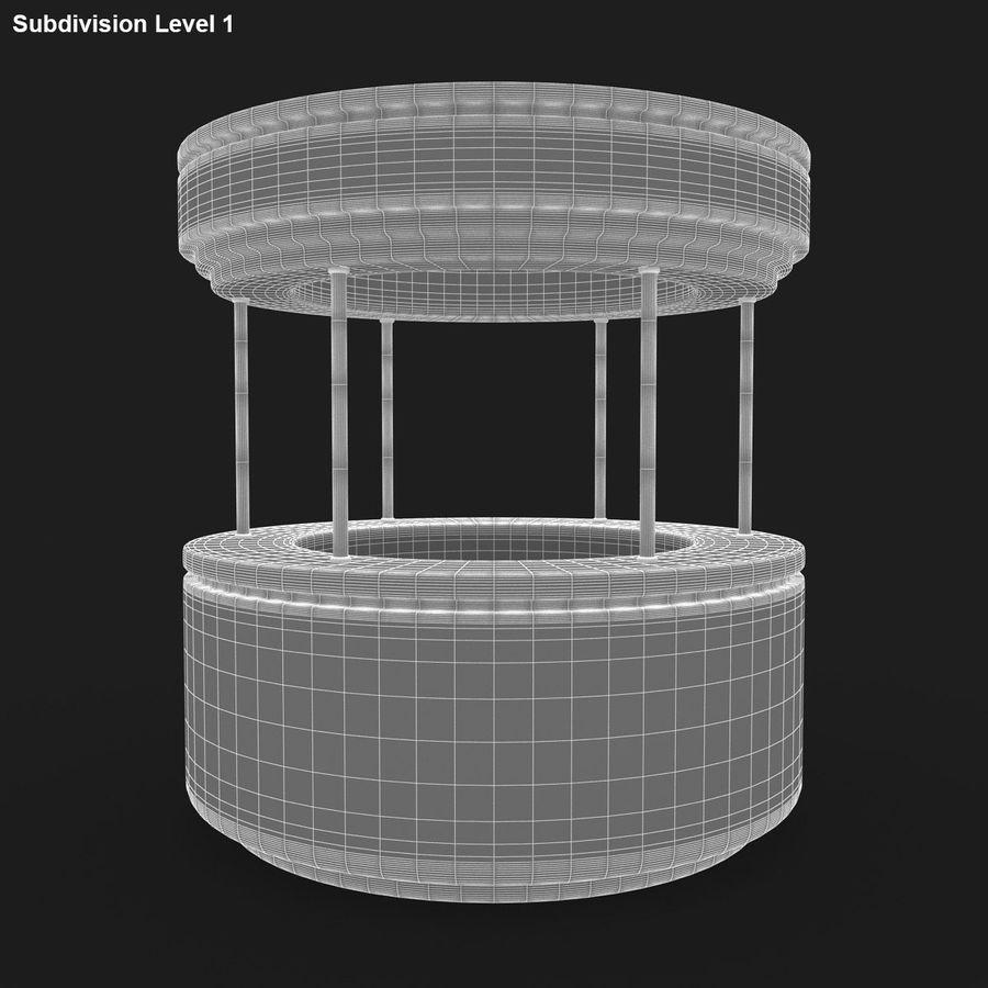商业摊位集合 royalty-free 3d model - Preview no. 29