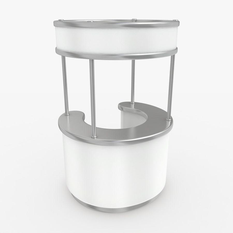 商业摊位集合 royalty-free 3d model - Preview no. 4