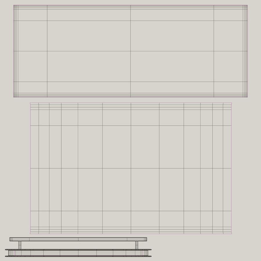 商业摊位集合 royalty-free 3d model - Preview no. 16