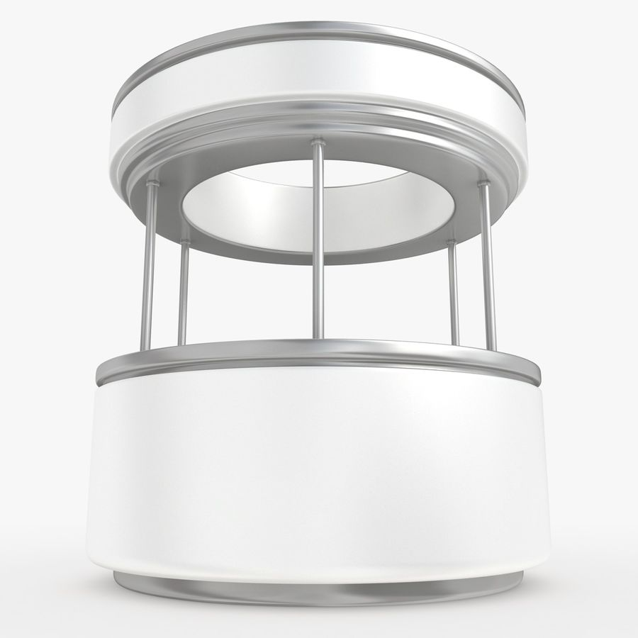 商业摊位集合 royalty-free 3d model - Preview no. 27