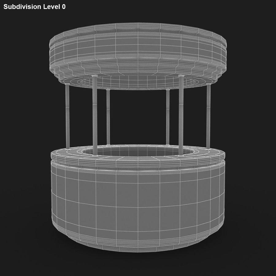 商业摊位集合 royalty-free 3d model - Preview no. 28