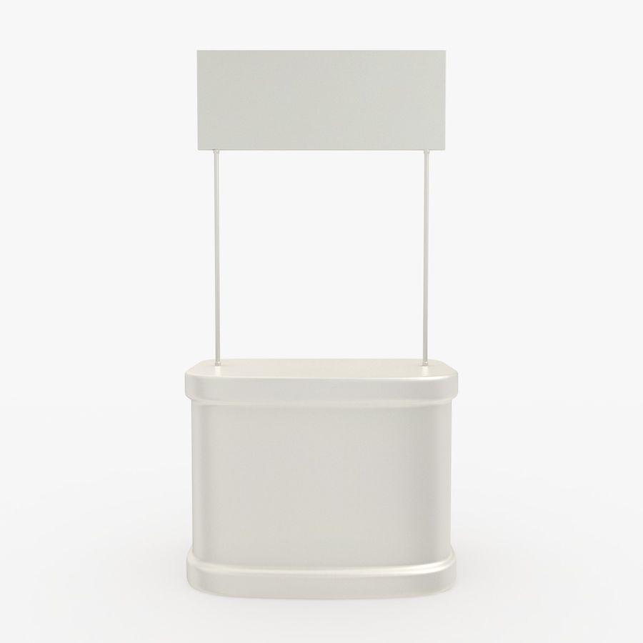 商业摊位集合 royalty-free 3d model - Preview no. 10
