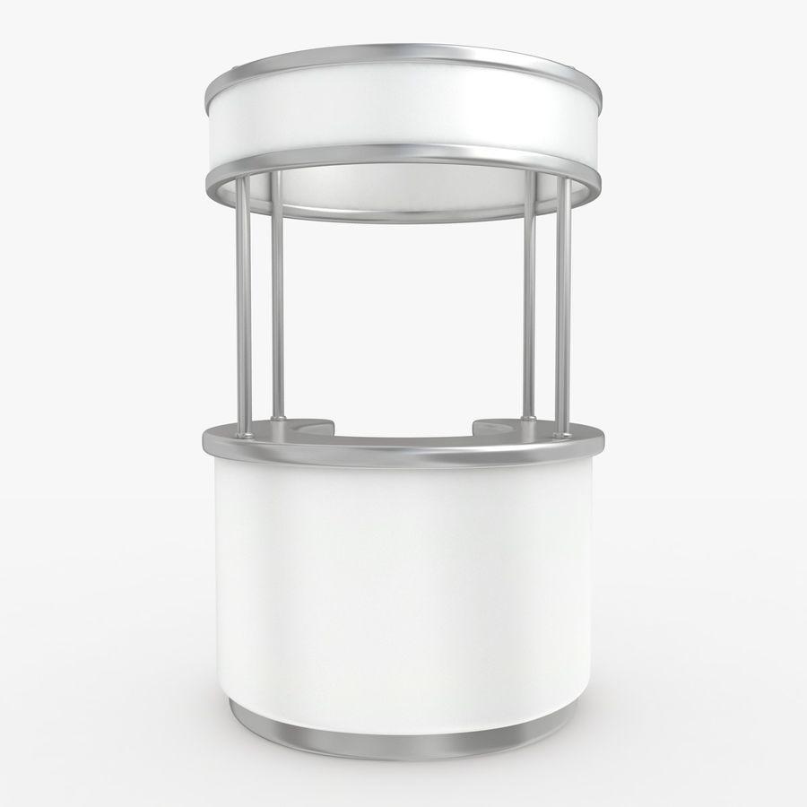 商业摊位集合 royalty-free 3d model - Preview no. 2