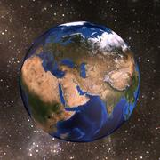 Dünya Küre 3d model