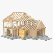 Construção de casas particulares 6 3d model