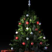 árbol de Navidad modelo 3d