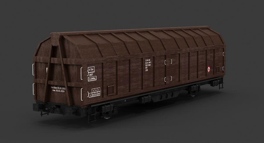 Vagão de carga royalty-free 3d model - Preview no. 6
