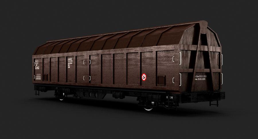 Vagão de carga royalty-free 3d model - Preview no. 3