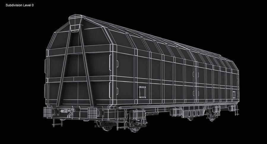 Vagão de carga royalty-free 3d model - Preview no. 15