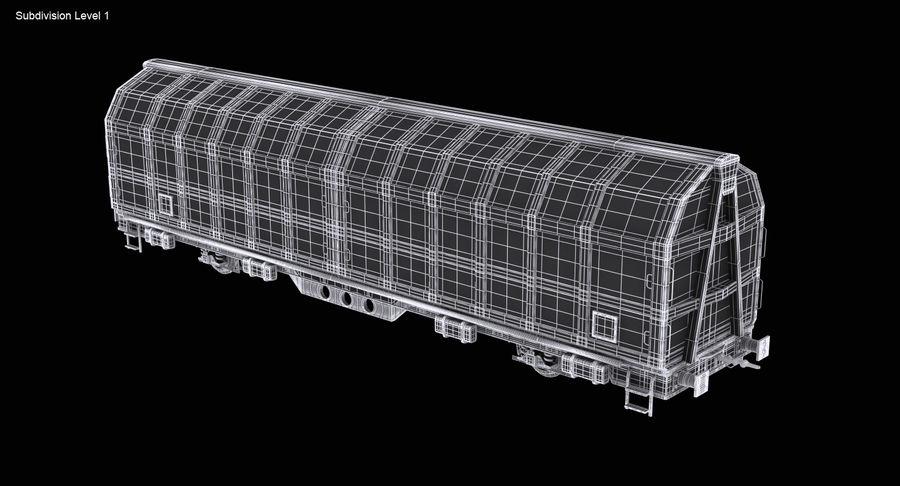 Vagão de carga royalty-free 3d model - Preview no. 14