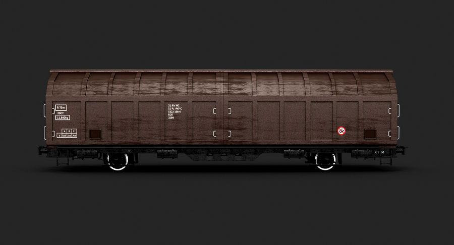 Vagão de carga royalty-free 3d model - Preview no. 5