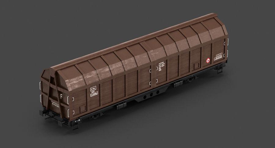 Vagão de carga royalty-free 3d model - Preview no. 10