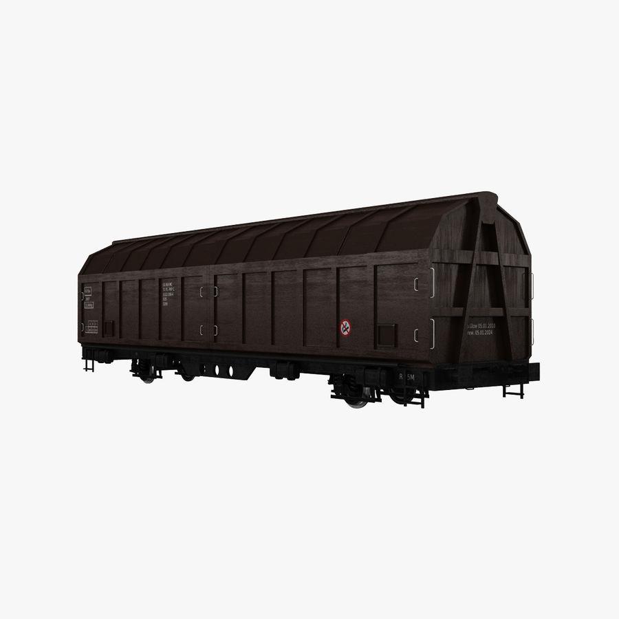 Vagão de carga royalty-free 3d model - Preview no. 1