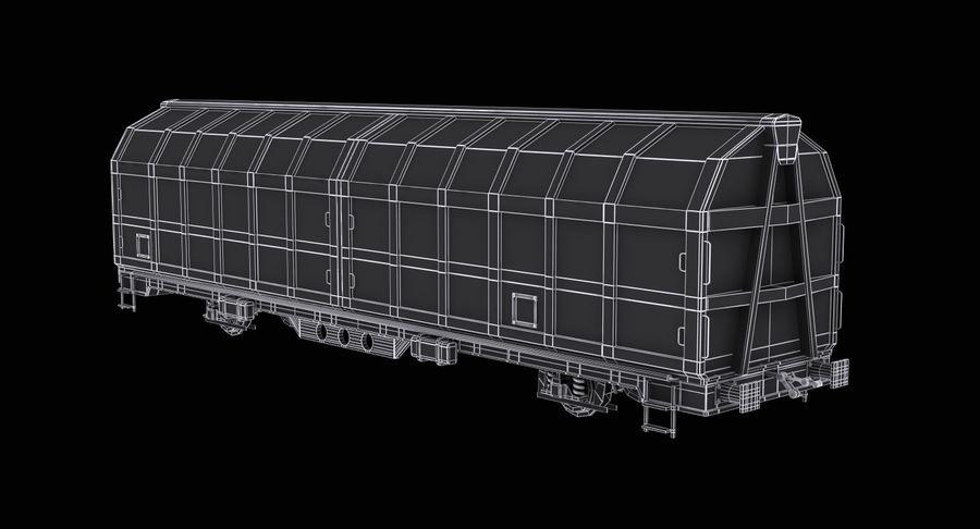 Vagão de carga royalty-free 3d model - Preview no. 11