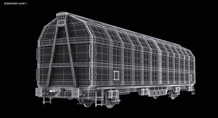 Vagão de carga royalty-free 3d model - Preview no. 16