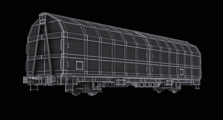 Vagão de carga royalty-free 3d model - Preview no. 12