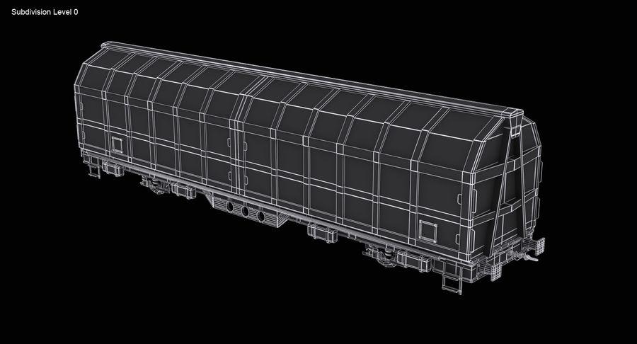 Vagão de carga royalty-free 3d model - Preview no. 13
