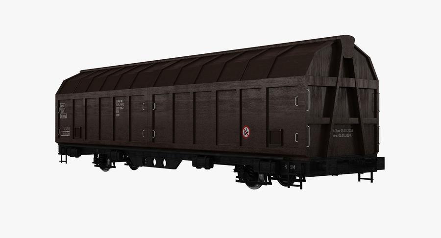 Vagão de carga royalty-free 3d model - Preview no. 2