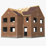 Private House Construction 3 3d model