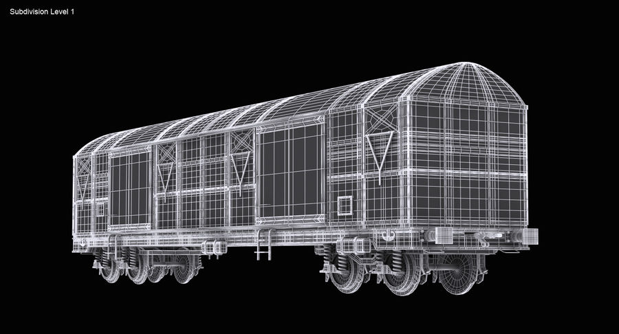 Güterwagen royalty-free 3d model - Preview no. 14