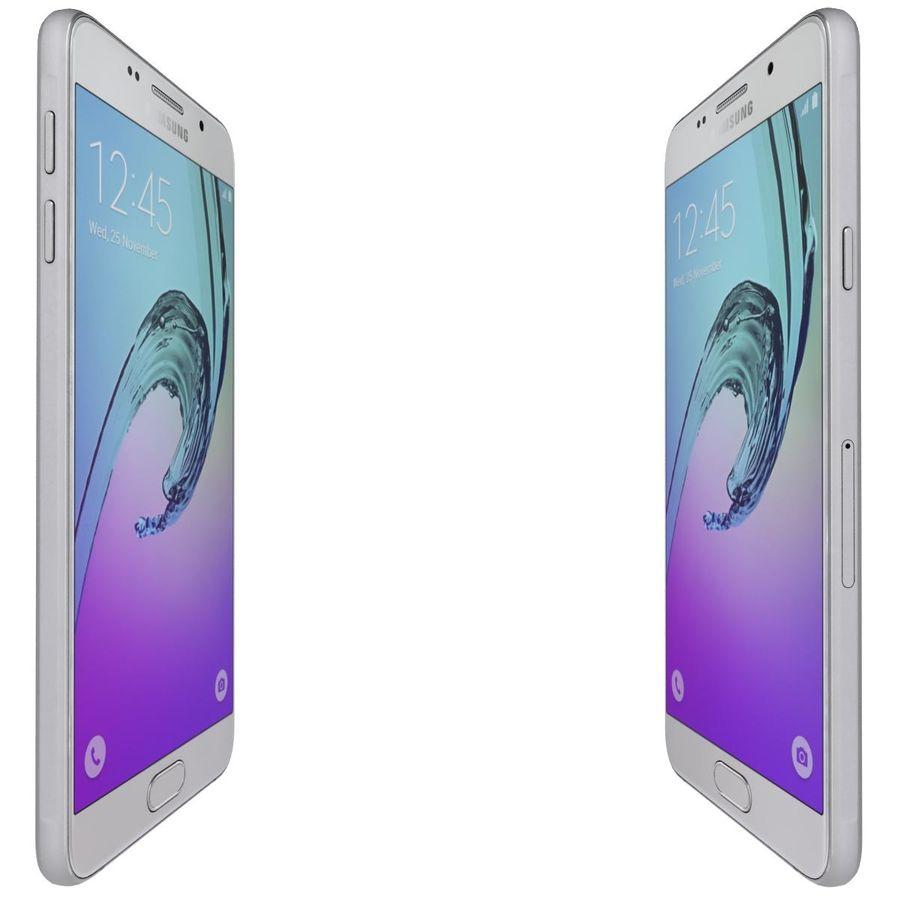 Samsung Galaxy A5 (2016) Alla färger royalty-free 3d model - Preview no. 39