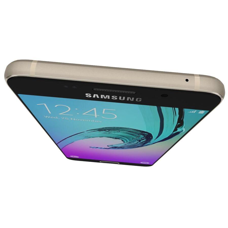 Samsung Galaxy A5 (2016) Alla färger royalty-free 3d model - Preview no. 12