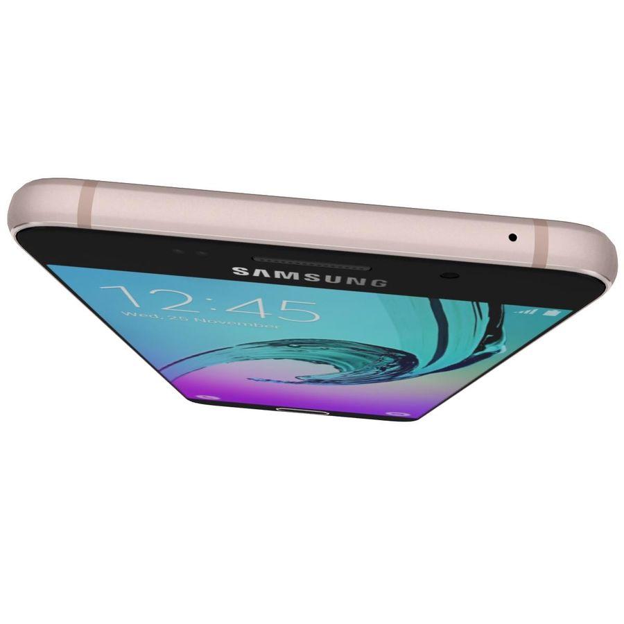 Samsung Galaxy A5 (2016) Alla färger royalty-free 3d model - Preview no. 28