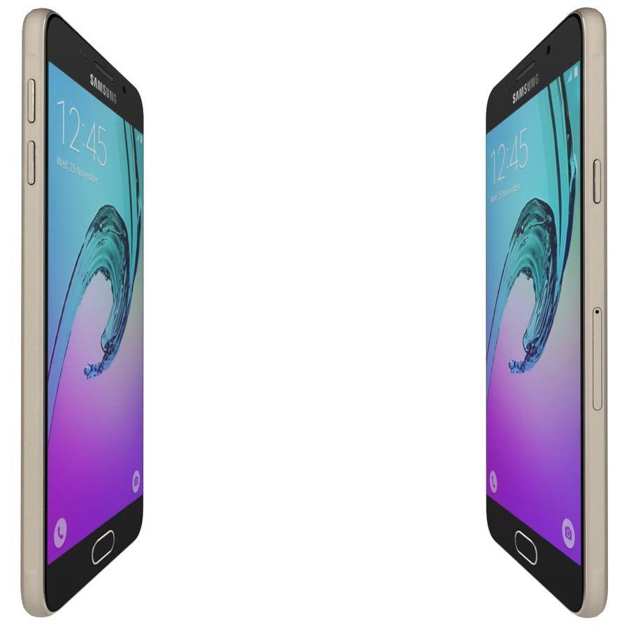 Samsung Galaxy A5 (2016) Alla färger royalty-free 3d model - Preview no. 11