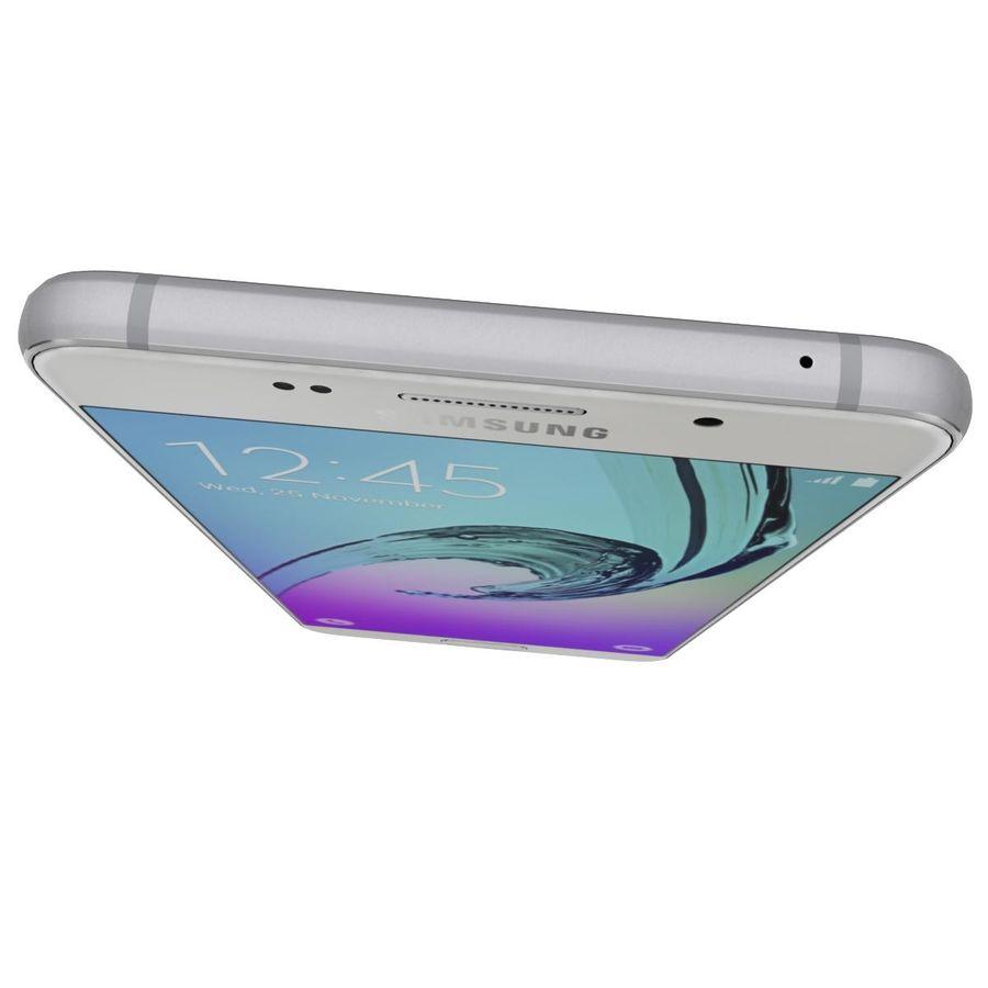 Samsung Galaxy A5 (2016) Alla färger royalty-free 3d model - Preview no. 40