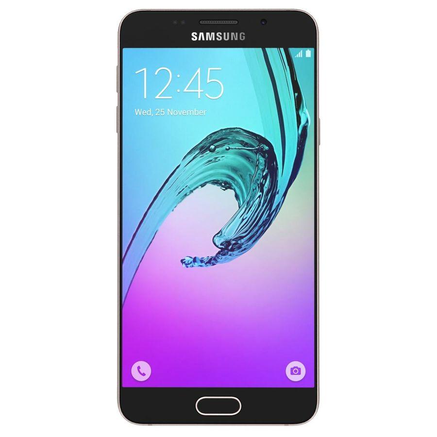 Samsung Galaxy A5 (2016) Alla färger royalty-free 3d model - Preview no. 21