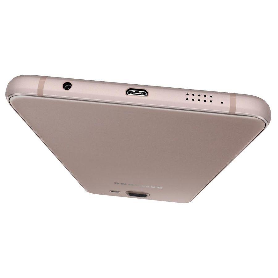Samsung Galaxy A5 (2016) Alla färger royalty-free 3d model - Preview no. 34