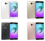 Samsung Galaxy A5 (2016) Alla färger 3d model