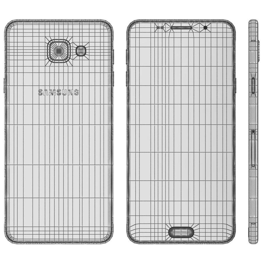 Samsung Galaxy A5 (2016) Alla färger royalty-free 3d model - Preview no. 66
