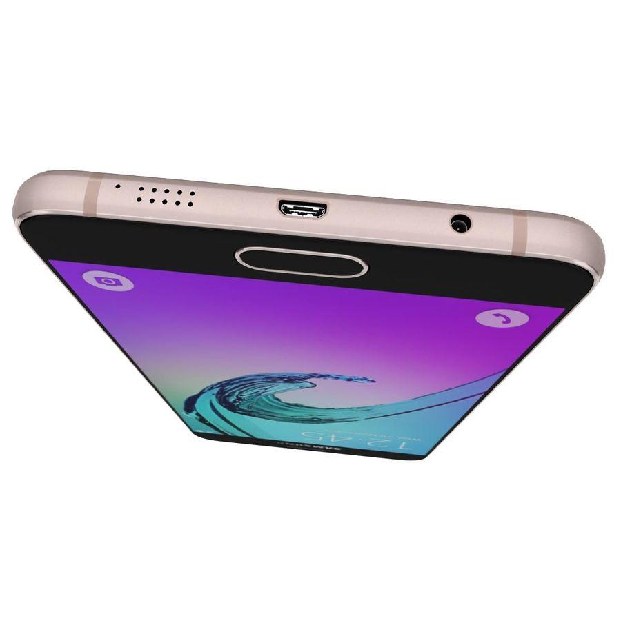 Samsung Galaxy A5 (2016) Alla färger royalty-free 3d model - Preview no. 32
