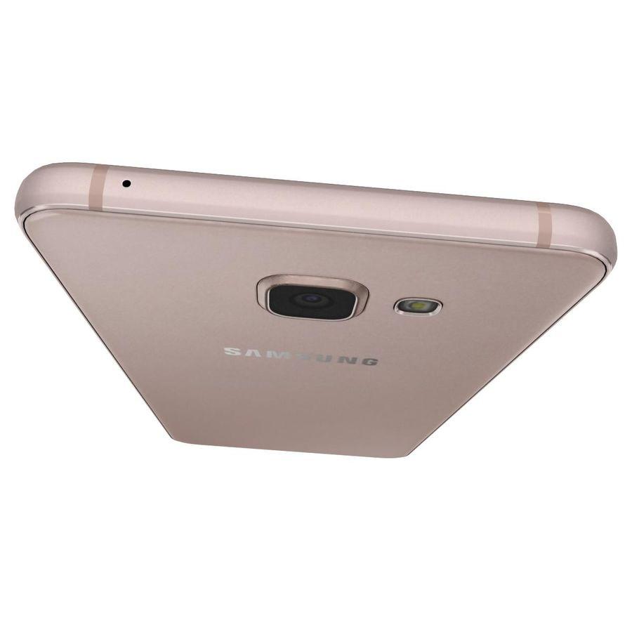 Samsung Galaxy A5 (2016) Alla färger royalty-free 3d model - Preview no. 30