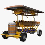 Pedal Pub 3D-model 3d model