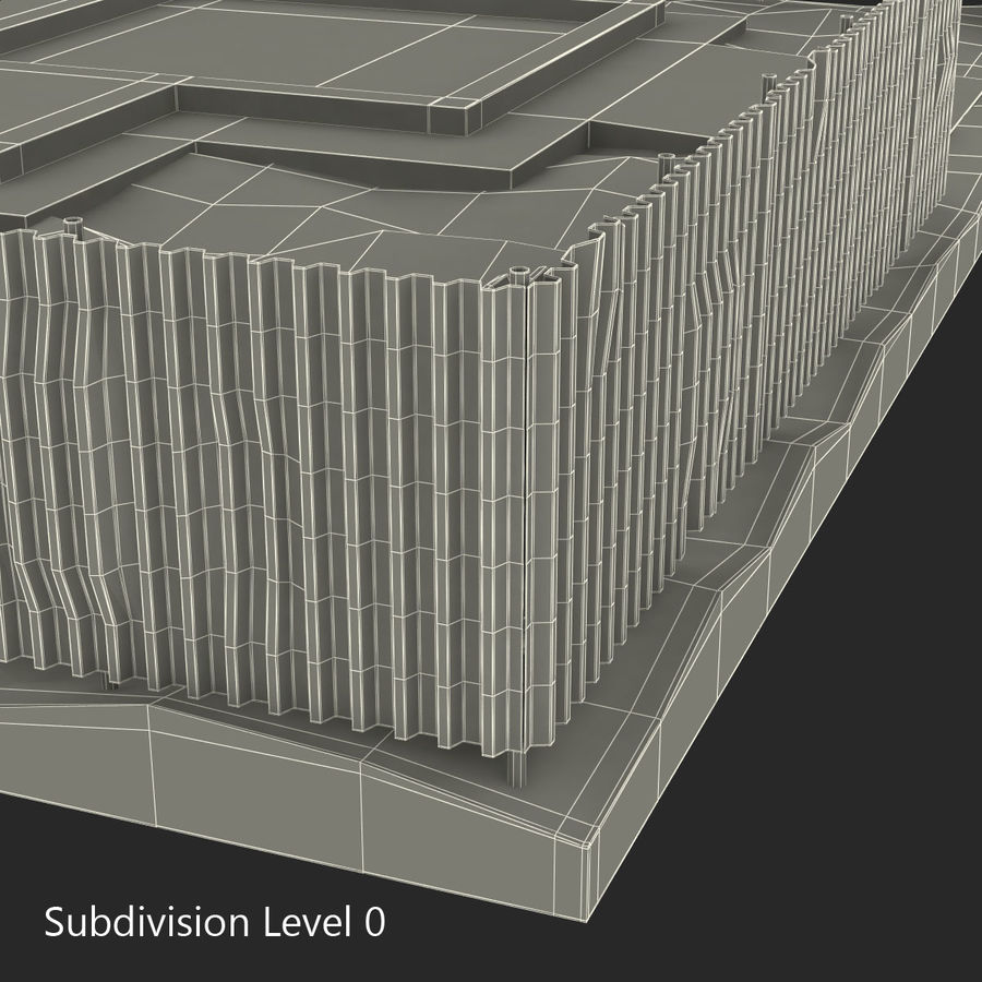 Cantiere 3 royalty-free 3d model - Preview no. 13